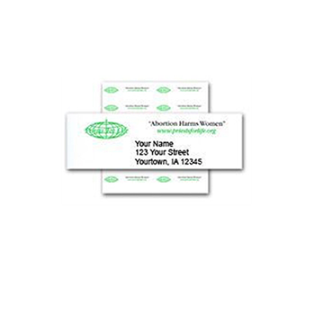 Picture of Mailing Address Labels