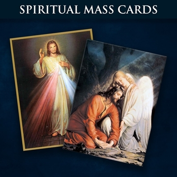 Picture for category Spiritual Mass Cards