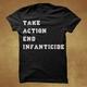 Take Action End Infanticide (black) t-shirt