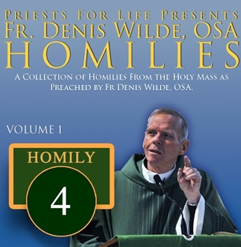 Homily by Fr. Denis Wilde, OSA - My Mouth Shall Be Filled with Your Praise I will Sing of your Glory