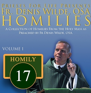 Homily by Fr. Denis Wilde, OSA -If I Be Lifted Up from the Poison to the Passion