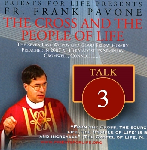 The Cross and the People of Life: The Seven Last Words Talk #3: Woman, here is your son
