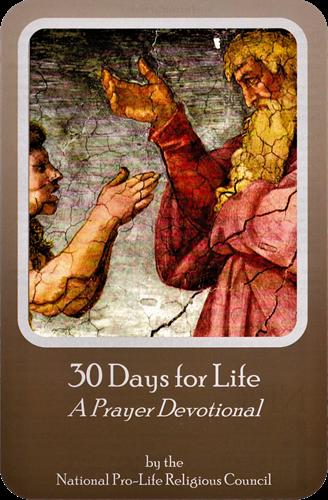 30 Days for Life: A Prayer Devotional