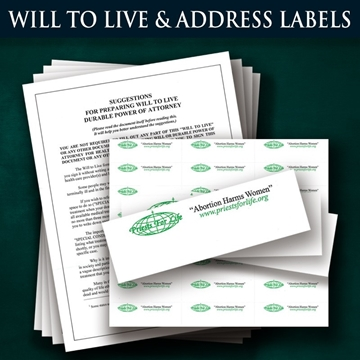 Picture for category Will to Live & Mailing Labels