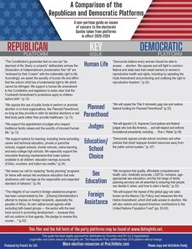 2020 Party Comparison Piece