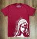Our Mother Chose Life T-Shirt: Cranberry Crew Neck